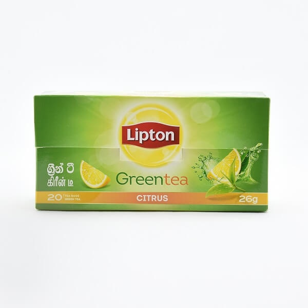 Lipton Clear Green Tea Citrus (1.3x20) 26g - in Sri Lanka