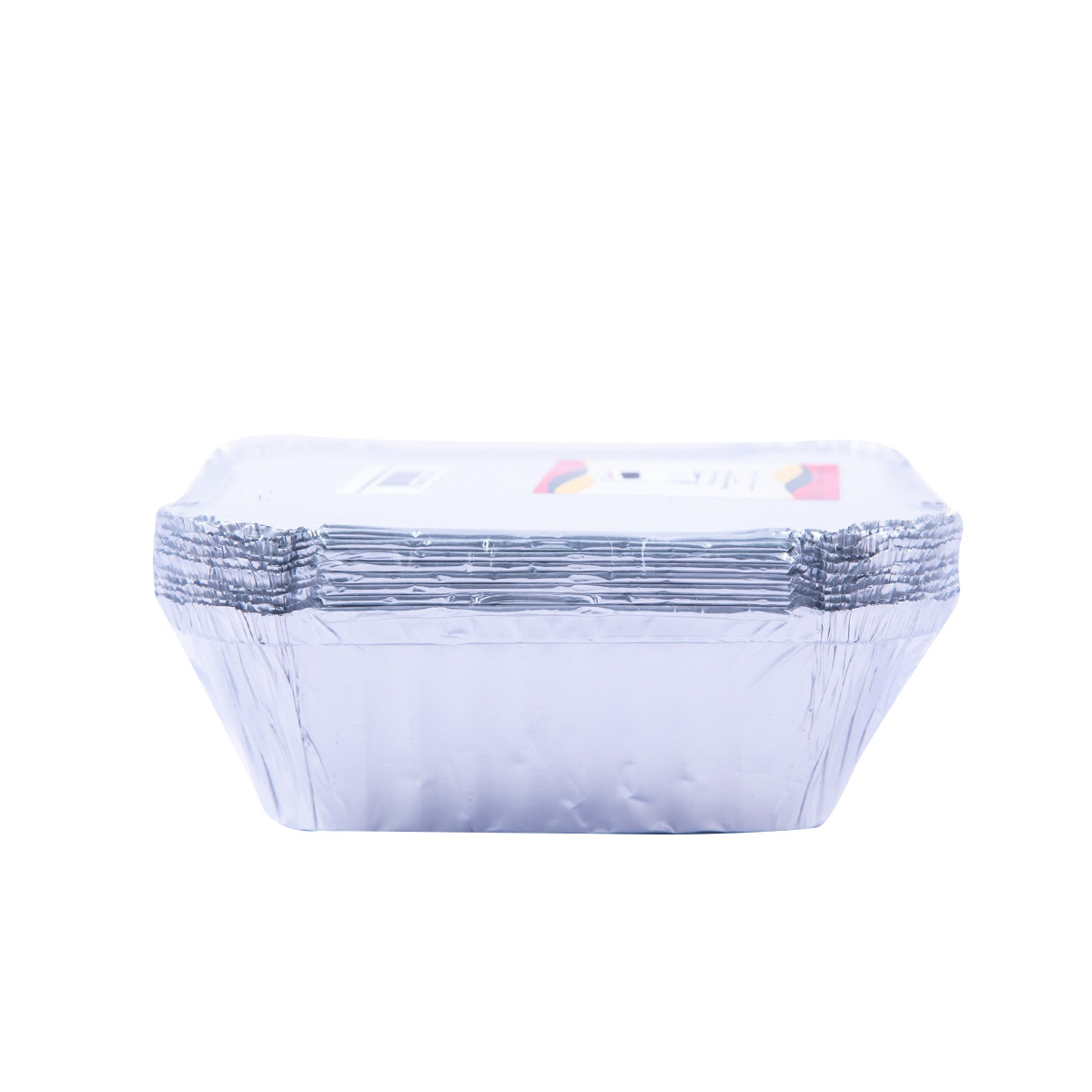 Safepac Aluminium Container With Lid 400ml 10s - in Sri Lanka
