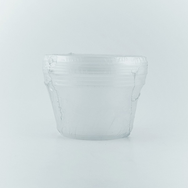 Safepac Round Pp Clear Container With Lid 800ml 5s - in Sri Lanka
