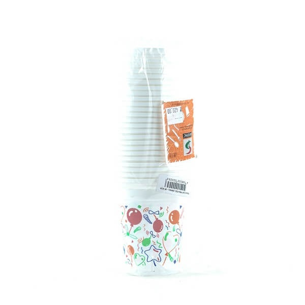 Safepac Pp Printed Cup 300ml 25s - in Sri Lanka