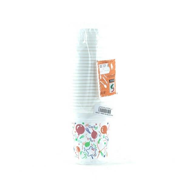 Safepac Pp Printed Cup 300ml 25s - in Sri Lanka