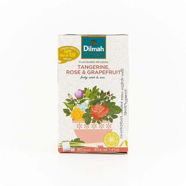 Dilmah Tea Tangerine Rose & Grapefruit 20s 40g - DILMAH - Tea - in Sri Lanka