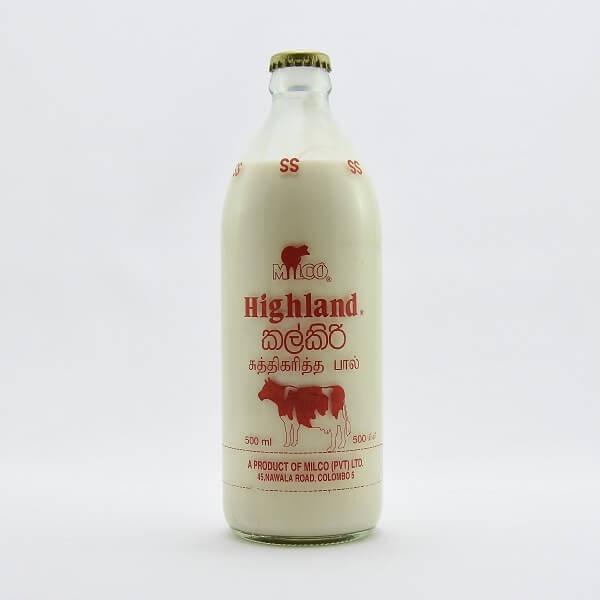 Highland Milk Sterilised Plain 500ml - in Sri Lanka