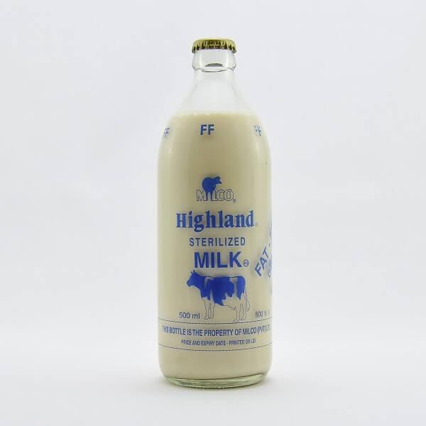 Highland Milk Sterilised Fat Free 500ml - in Sri Lanka