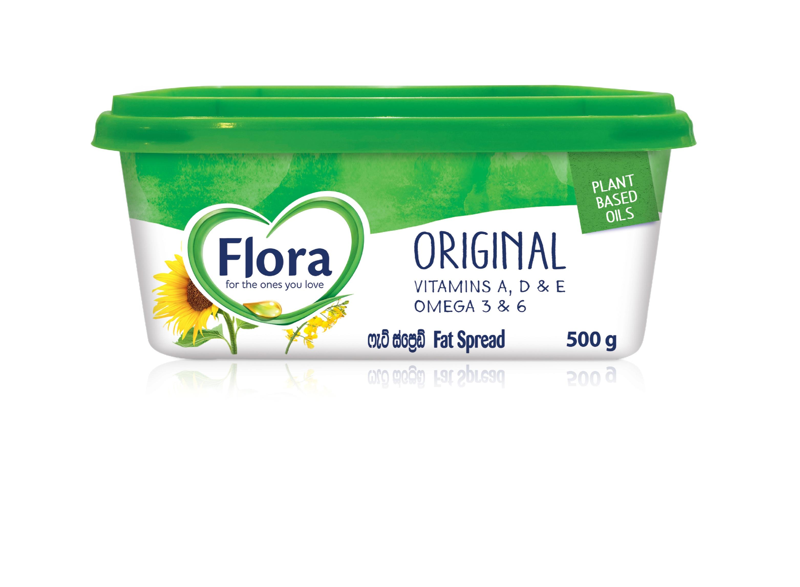 Flora Magarine 500G - FLORA - Spreads - in Sri Lanka