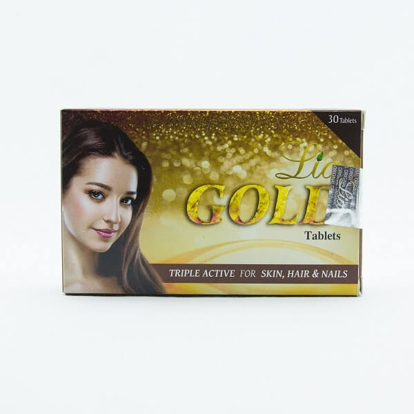 Lia Capsules Gold 30 Tablets - in Sri Lanka