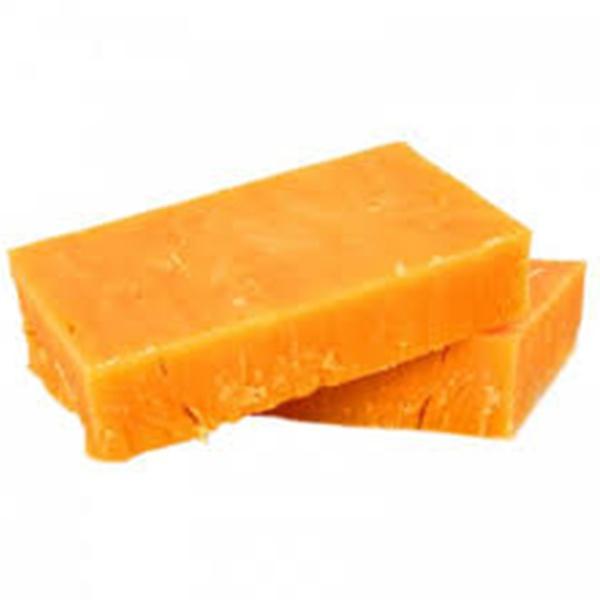 Cheese Red Cheddar Block Kg - GLOMARK - Cheese - in Sri Lanka