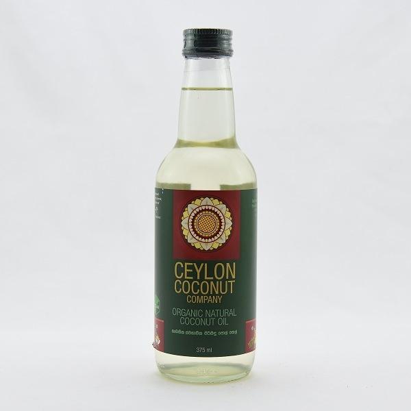 Ceylon Coconut Company Organic Coconut Oil 375ml - in Sri Lanka
