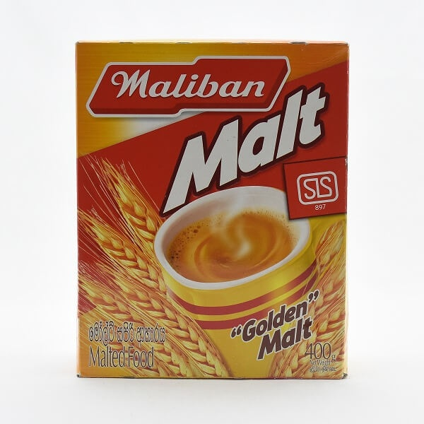 Maliban Malt Food Drink Shelf Pack 400g - in Sri Lanka