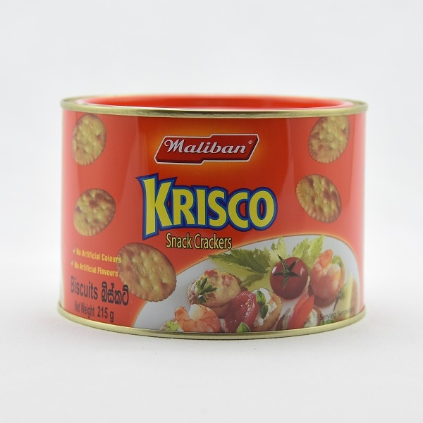 MALIBAN BISCUIT KRISCO 215G - MALIBAN - Biscuits - in Sri Lanka