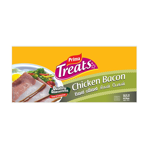 PRIMA SLICES CHICKEN BACON 165G - in Sri Lanka