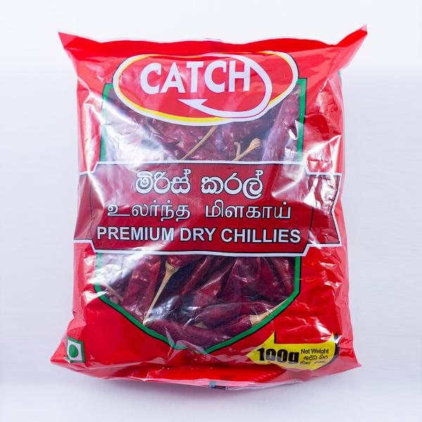 CATCH DRY CHILLIES WHOLE 100G - CATCH - Seasoning - in Sri Lanka