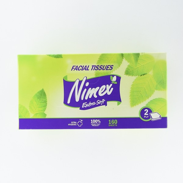 NIMEX FACIAL TISSUE BOX 160S - in Sri Lanka