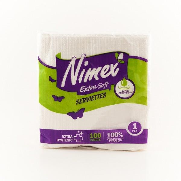 NIMEX PAPER SERVIETTES 100S - in Sri Lanka