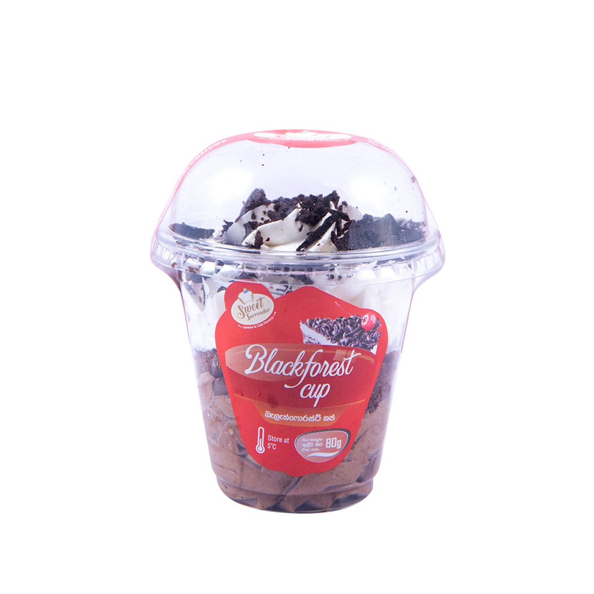 Sweet Surrender Dessert Black Forest Cup 90g - in Sri Lanka
