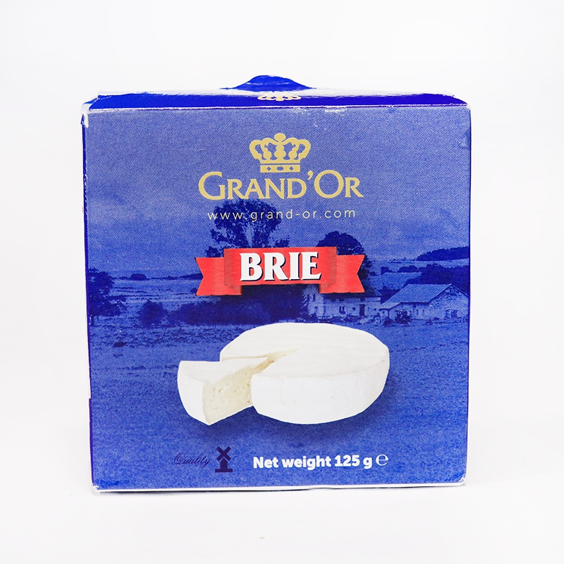 GRAND'OR CHEESE BRIE 125G - in Sri Lanka