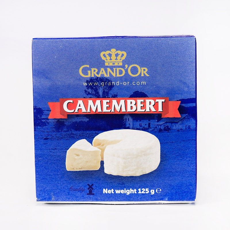 GRAND'OR CHEESE CAMEMBERT 125G - GRAND'OR - Cheese - in Sri Lanka