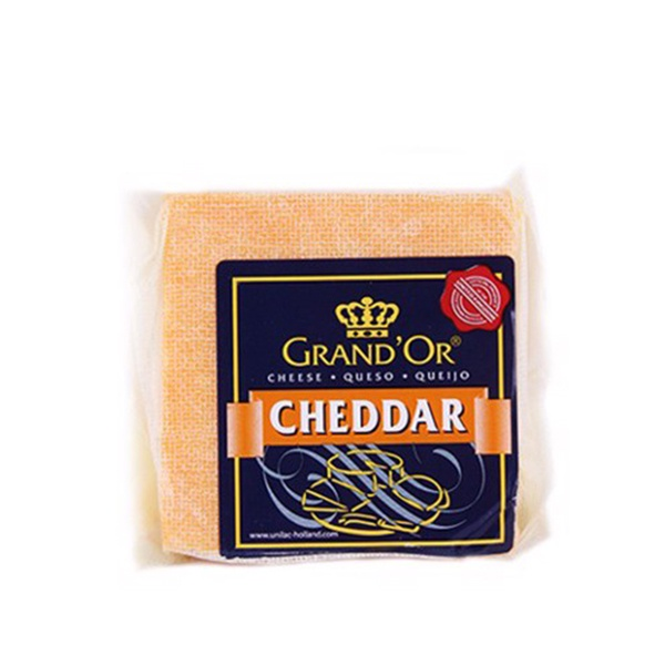 GRAND'OR CHEESE CHEDDAR 200G - GRAND'OR - Cheese - in Sri Lanka