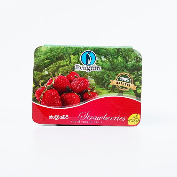 PENGUIN FRUIT STRAWBERRY 250G - PENGUIN - Processed/Preserved Vegetable & Fruit - in Sri Lanka