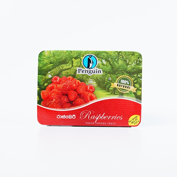 PENGUIN FRUIT RASPBERRY 250G - PENGUIN - Processed/Preserved Vegetable & Fruit - in Sri Lanka
