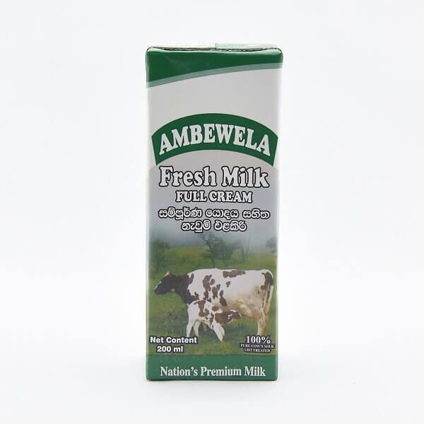AMBEWELA MILK PLAIN 200ML - in Sri Lanka