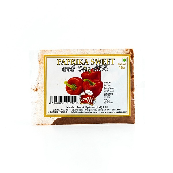 AJIY PAPRIKA SWEET 10G - GLOMARK - Seasoning - in Sri Lanka