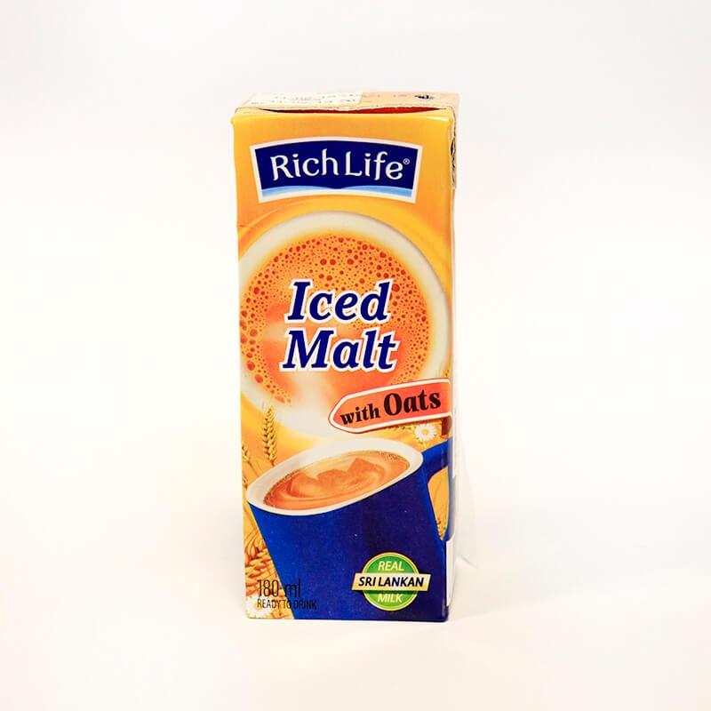 RICHLIFE MILK ICED MALT 180ML - GLOMARK - Milk Foods - in Sri Lanka