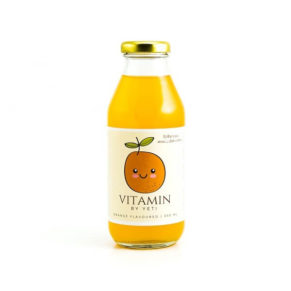 Yeti Vitamin Drink Orange Flavoured 350ml - GLOMARK - Fruit Drinks - in Sri Lanka