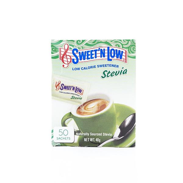 SWEET'N SWEETNER STEVIA 50 SACHETS - SWEET'N LOW - Special Health - in Sri Lanka