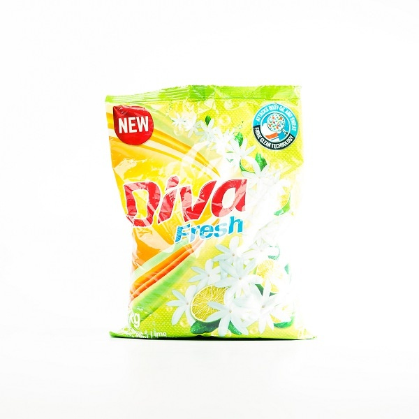 Diva Detergent Powder Jasmine & Lime 1Kg - in Sri Lanka