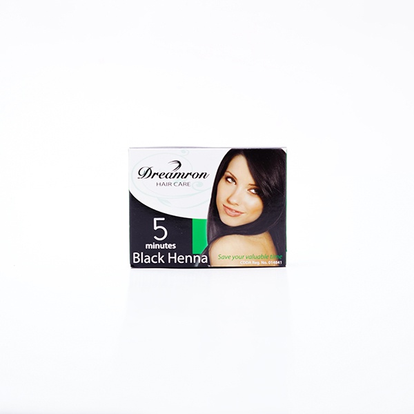 Dreamron 5 Minutes Black Henna 2X 8G - in Sri Lanka