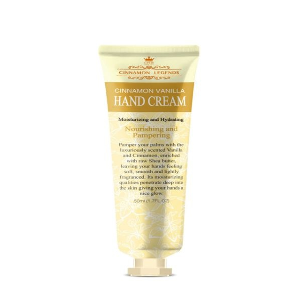 Cinnamon Legends Cinnamon  Vanilla Hand Cream 50Ml - in Sri Lanka