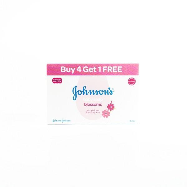 Jhonson & Jhonson Blossoms Soap 75G Buy 4 Get 1 Free - in Sri Lanka
