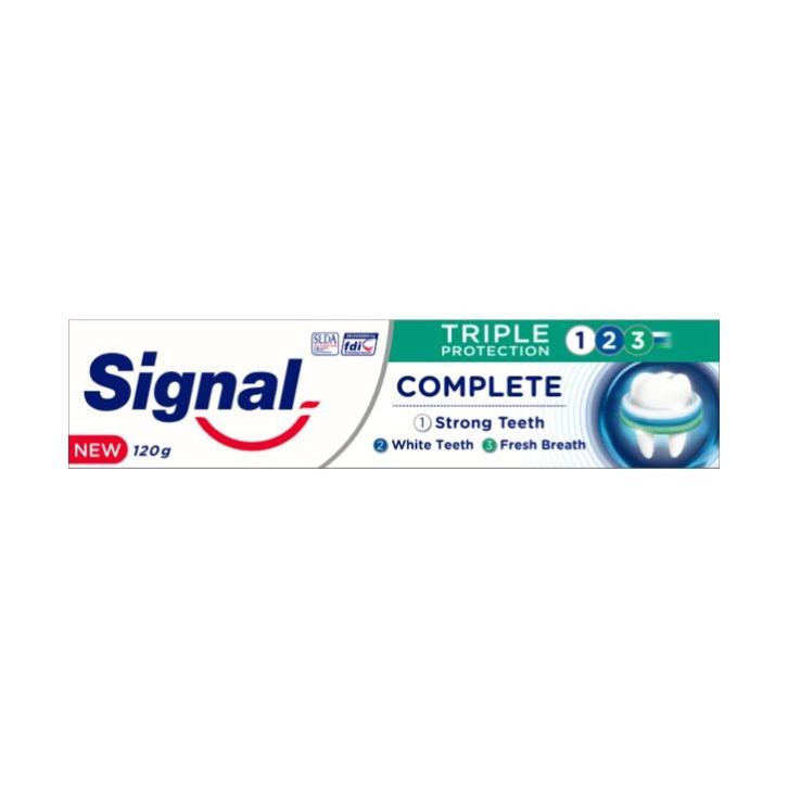 Signal Tripple Protection 123 Toothpaste 120G - in Sri Lanka