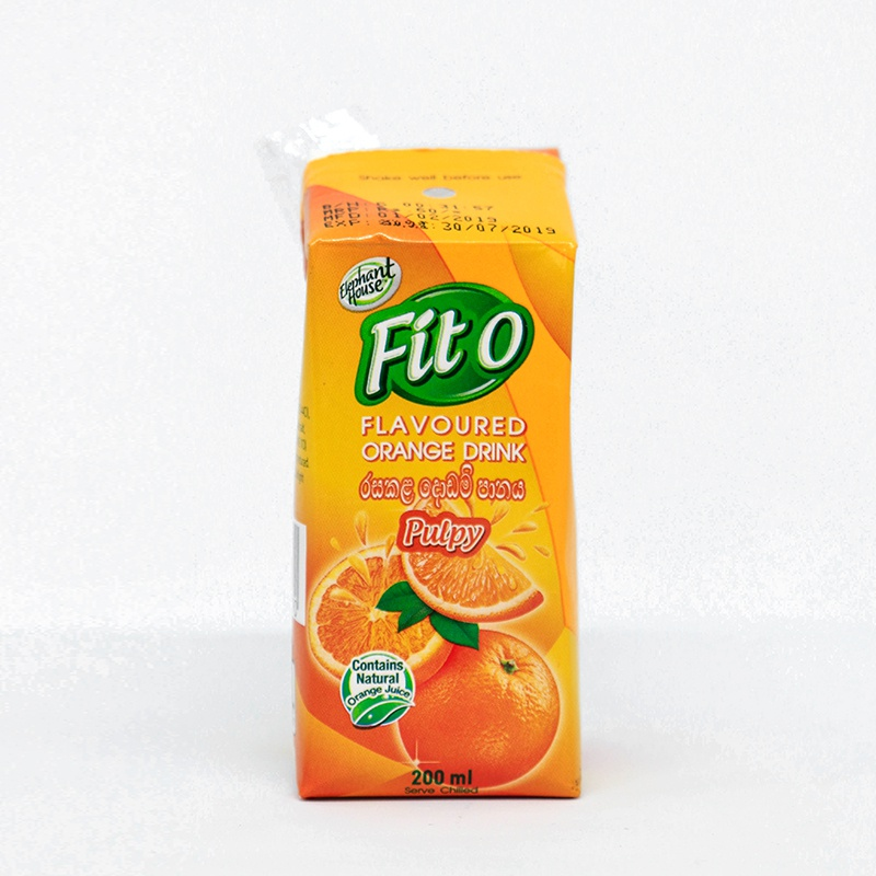 Elephant House Fito Orange Nectar 200ML - in Sri Lanka