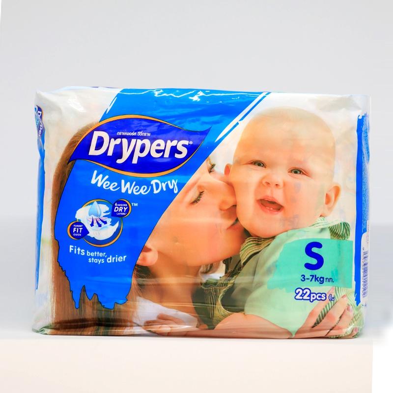 Drypers Wee Wee Dry Regular Diaper Small 22 Pcs - in Sri Lanka