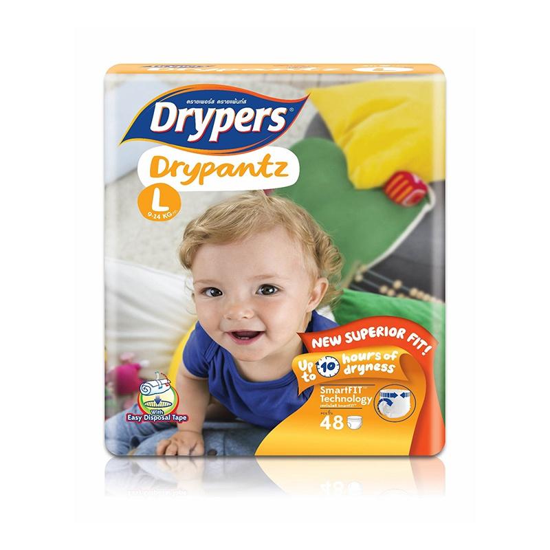 Drypers Dry Pants Mega Pack Large 48 Pcs - in Sri Lanka