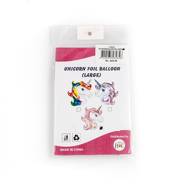 "Ph Unicorn Balloon Foil Large 18"" - in Sri Lanka"