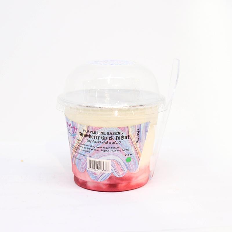 Plb Greek Yogurt Strawberry 150g - in Sri Lanka
