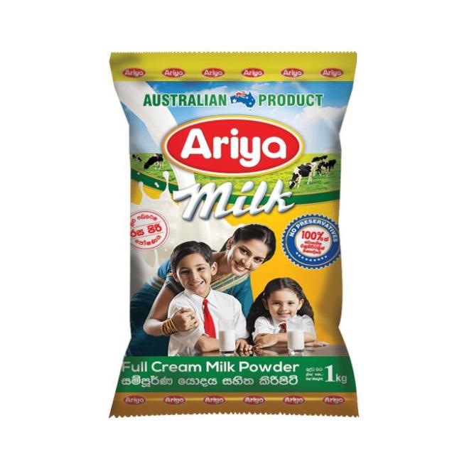 Ariya Milk Powder Foil Pack 1kg - in Sri Lanka