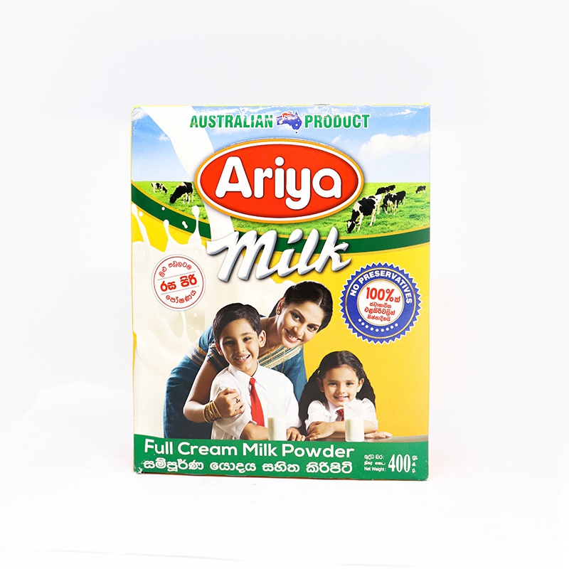 Ariya Milk Powder Shelf Pack 400g - in Sri Lanka