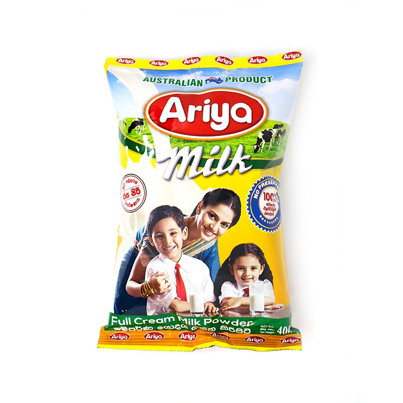 Ariya Milk Powder Foil Pack 400g - in Sri Lanka