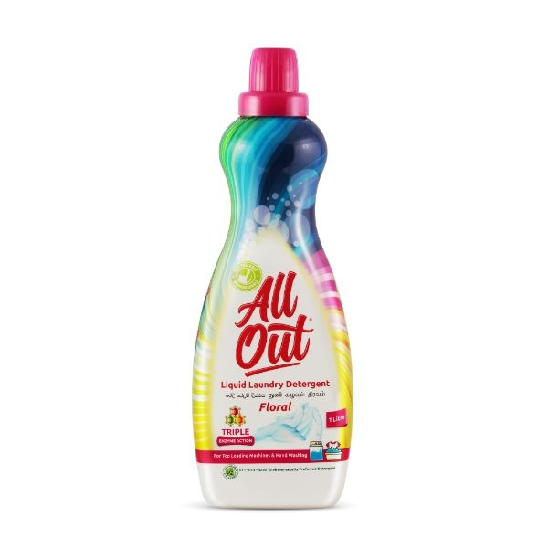 Allout Laundry Liquid Top Load 1l - in Sri Lanka