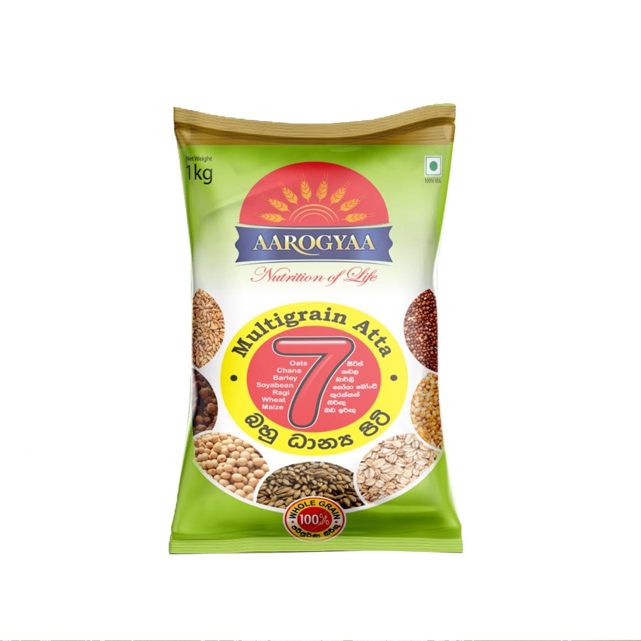 Aarogyaa Multigrain Atta Flour 1kg - in Sri Lanka