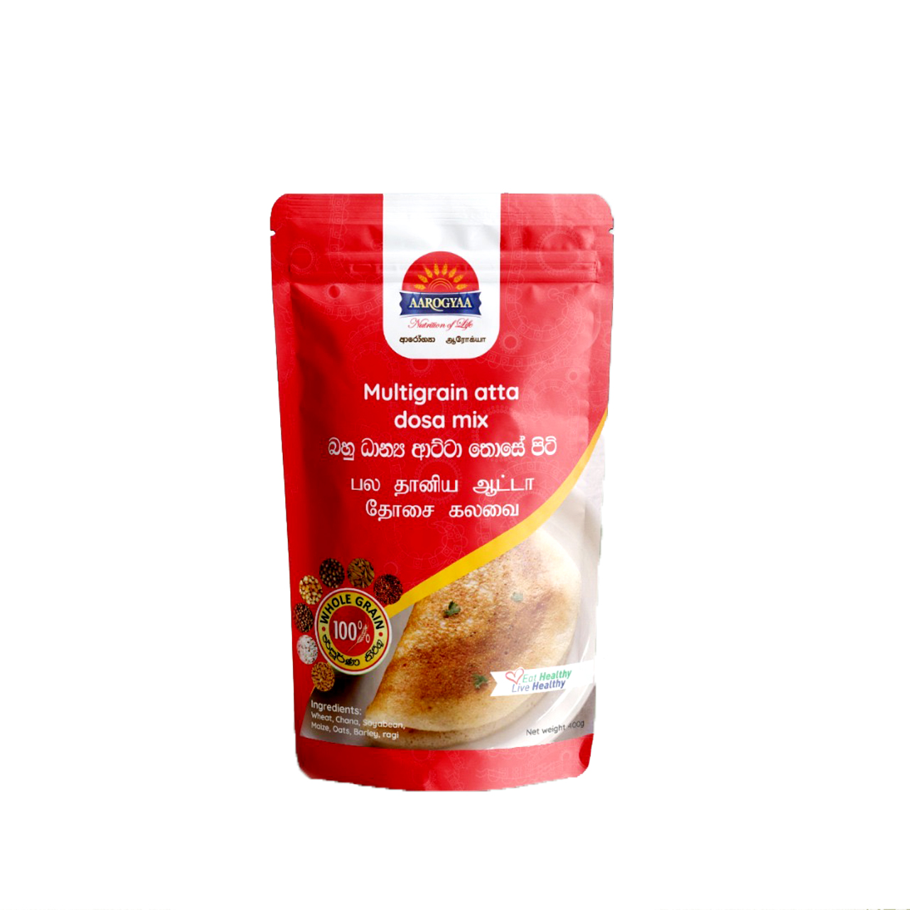 Aarogyaa Atta Dosa Mix Flour 400g - in Sri Lanka