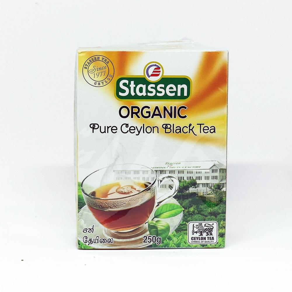 Stassen Orga. Ceylon Black Tea 250g - in Sri Lanka