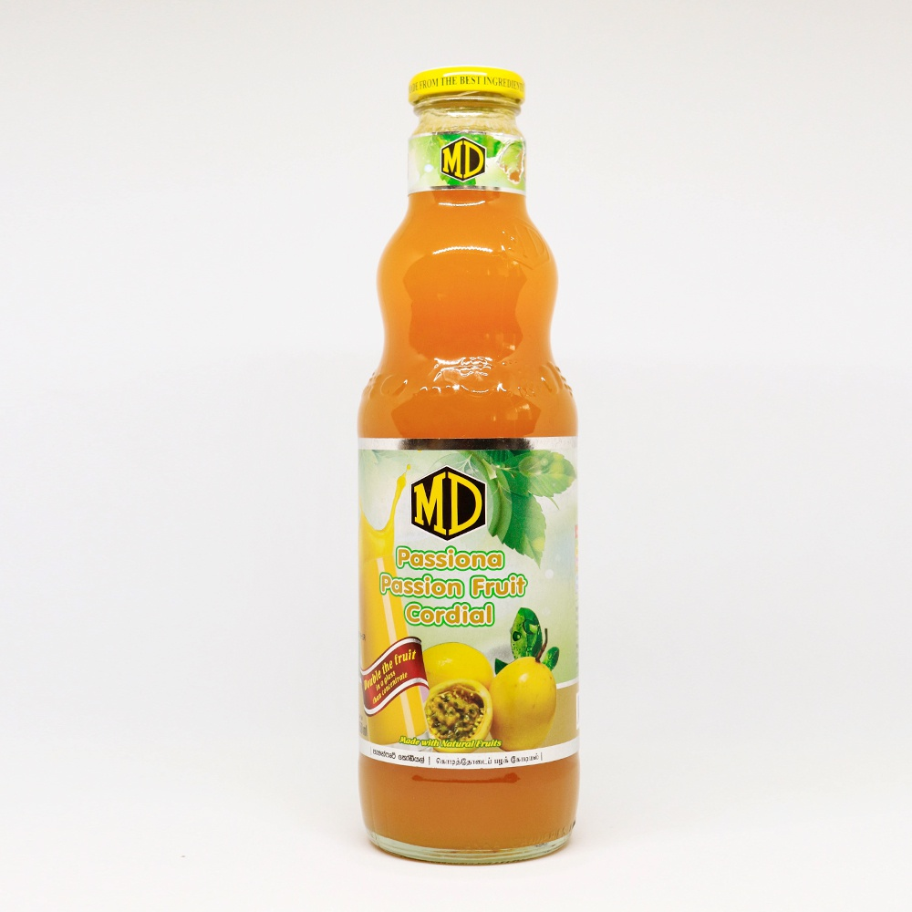 Md Passion Fruit Cordial 750ml - in Sri Lanka