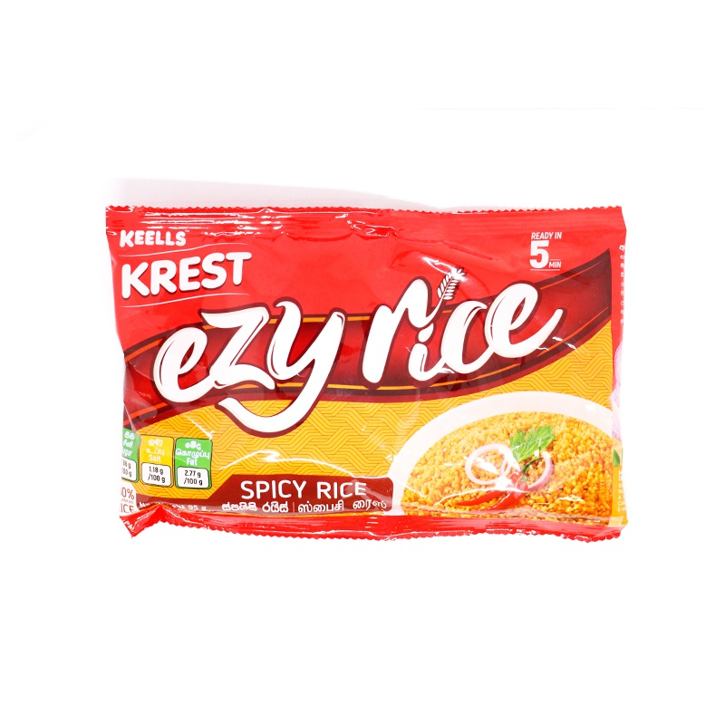 Keells Krest Ezy Spicy Rice 95g - in Sri Lanka