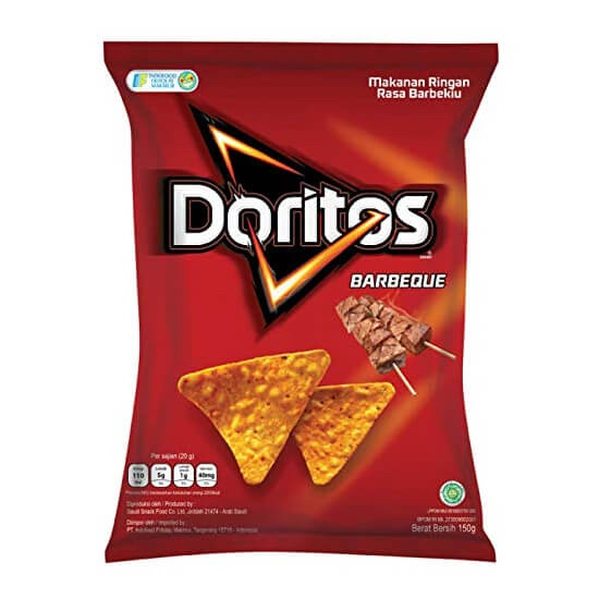 Doritos Tortilla Chips Barbeque 160g - DORITOS - Snacks - in Sri Lanka