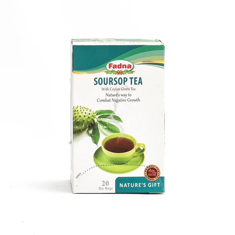Fadna Soursop With Green Tea 20s 40g - in Sri Lanka